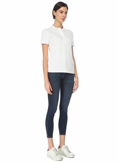 Lacoste Kadın Polo Yaka Tişört 101578679 Beyaz